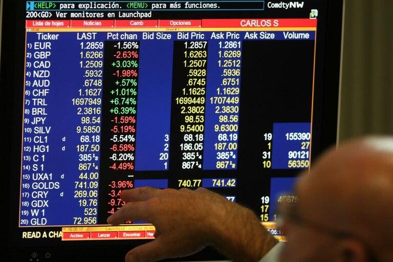 La bolsa porteña fue afectada por el pesimismo de cara a un eventual default