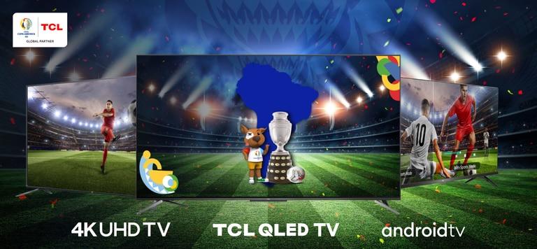 El Android TV C715 QLED permite al usuario ver los partidos como si estuviese en el estadio