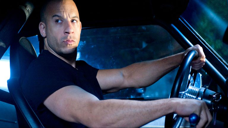 Diesel, el piloto más peligroso del cine: destruyó 61 autos en Rápido y furioso