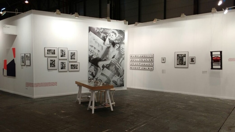 En el stand de la galería Rolf Art, el museo Reina Sofía mostró interés en obras de Liliana Maresca