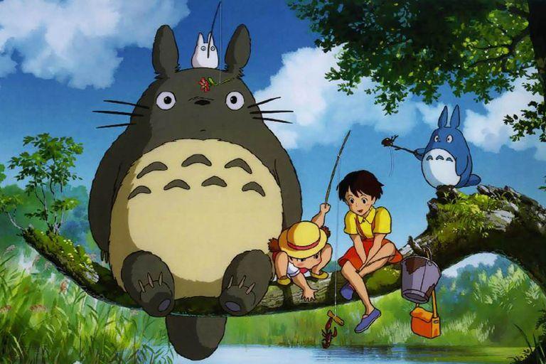 Totoro, en una escena del film