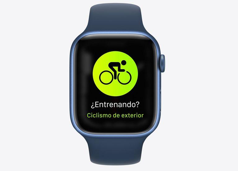 14-09-2021 Apple Watch Series 7 con funciones para ciclistas POLITICA INVESTIGACIÓN Y TECNOLOGÍA APPLE