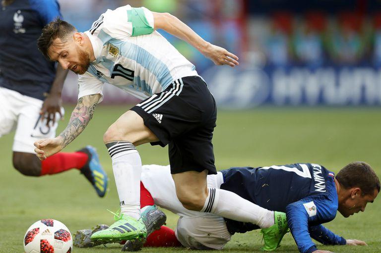 Messi y Griezman, enfrentados también en Rusia 2018.