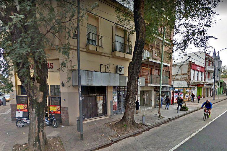 El hecho ocurrió en un edificio de avenida Rivadavia 8889