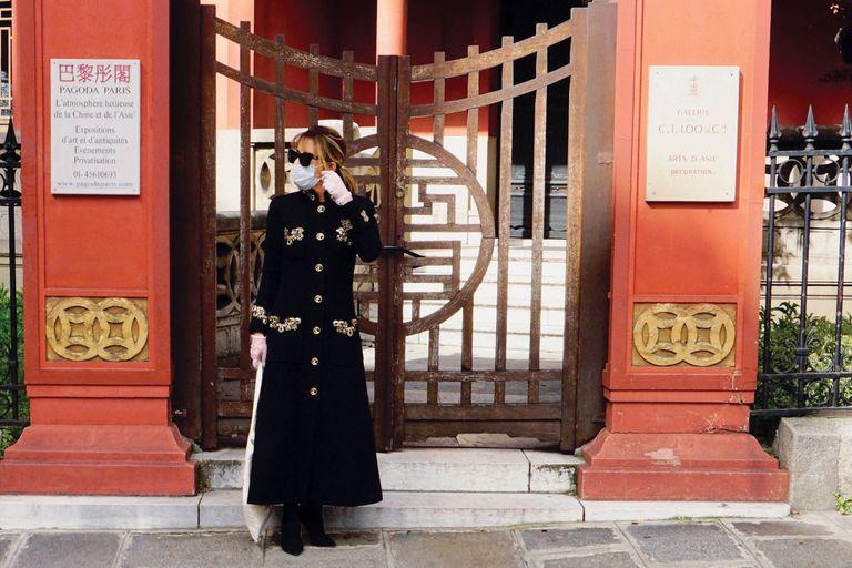 Patricia Della Giovampaola. Las imágenes de su cuarentena en París