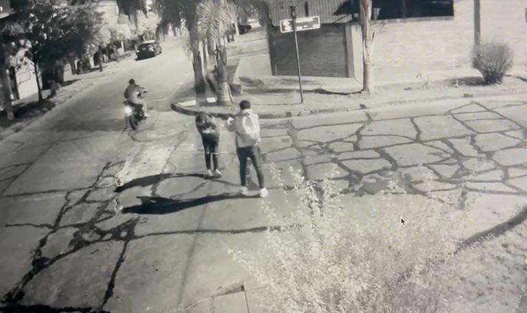 El violento episodio ocurrió en la esquina de Labardén y Florio