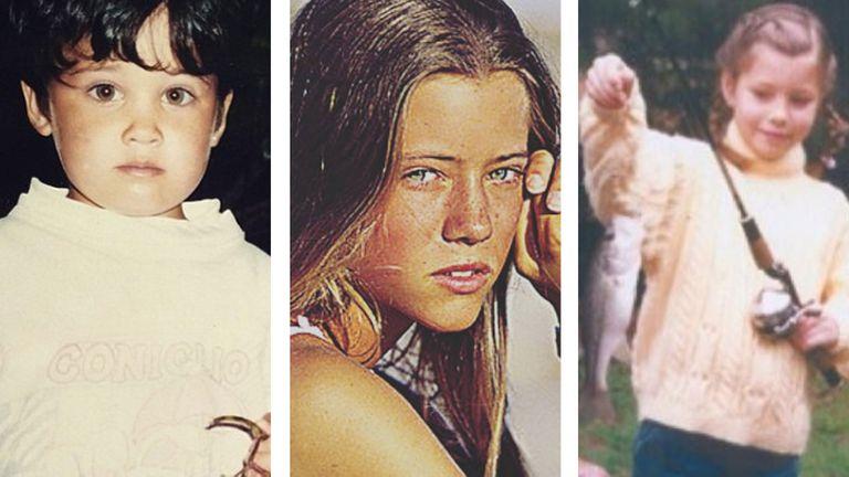 Nicole, Flor Torrente y Jessica Biel, vintage