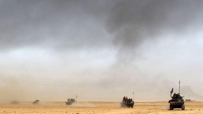 El ejército y varias milicias apoyadas por Occidente buscan reconquistar Mosul, la segunda ciudad del país