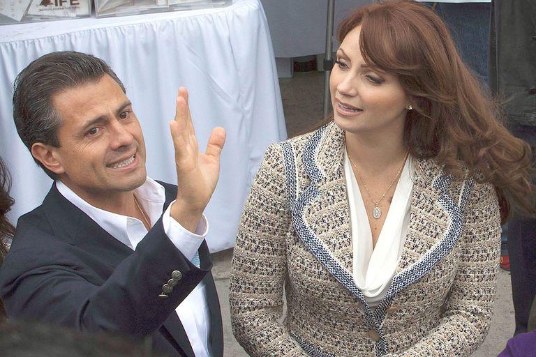 Peña Nieto y Rivera se mostraron juntos durante la campaña electoral