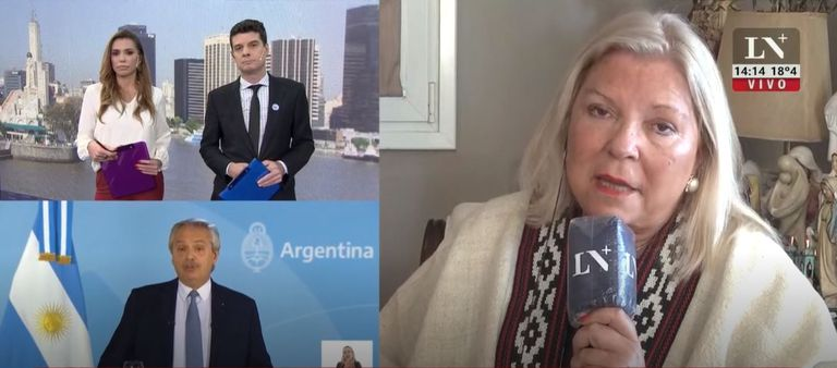 """Elisa Carrió: """"No volvería a apoyar a Mauricio Macri para presidente"""""""