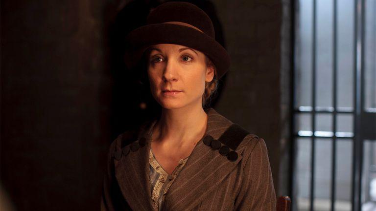 Joanne Froggat, la actriz que interpreta a Anna Bates en Downton Abbey
