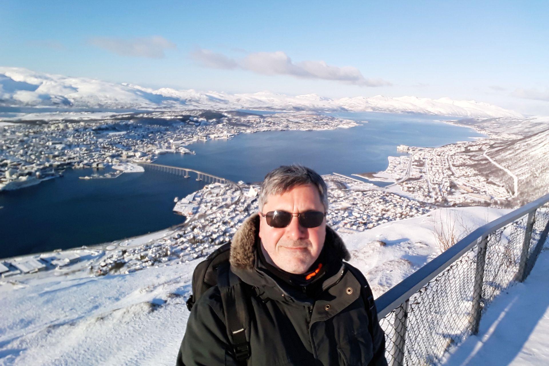 Gastón en Tromsø, Noruega.