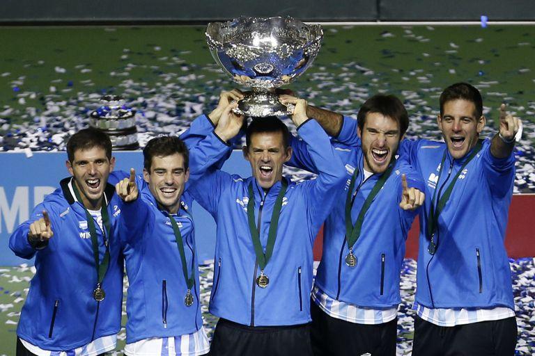 La hora más feliz: Orsanic y la Copa Davis, en el histórico triunfo en Zagreb sobre Croacia