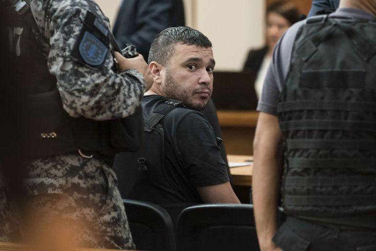 Esteban Alvarado, en la audiencia imputativa