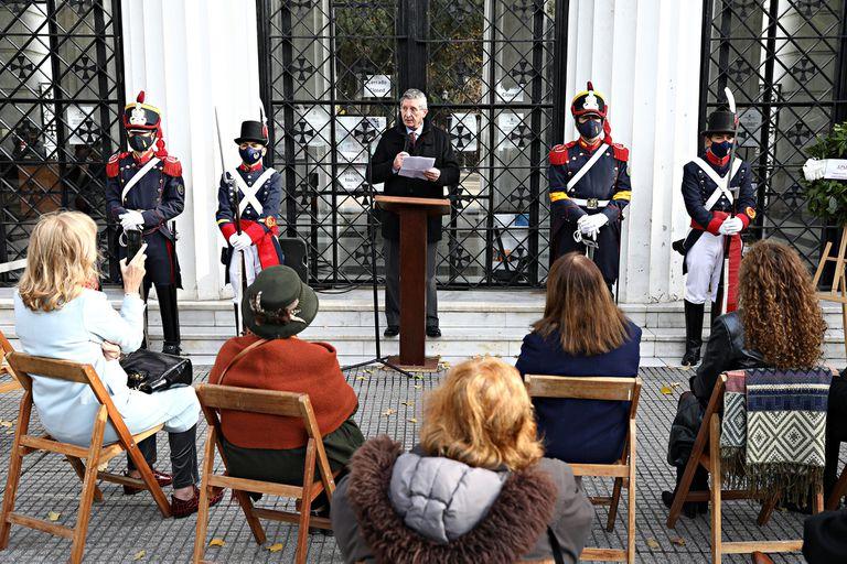 Homenaje a Bartolomé Mitre en el bicentenario de su nacimiento