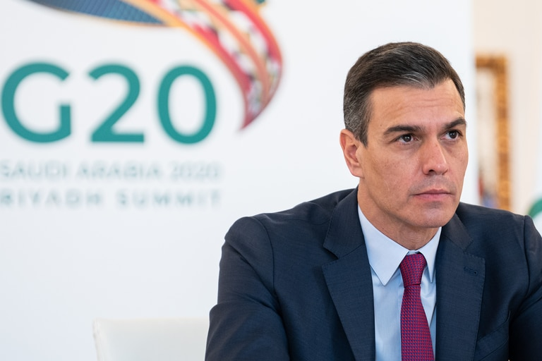 El presidente español Pedro Sánchez anunció que en enero de 2021 se dará inicio al plan de vacunación contra el coronavirus