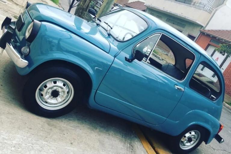 Un restaurador puso en venta un Fiat600 S de 1982 con una insólita descripción que se volvió viral en las redes sociales