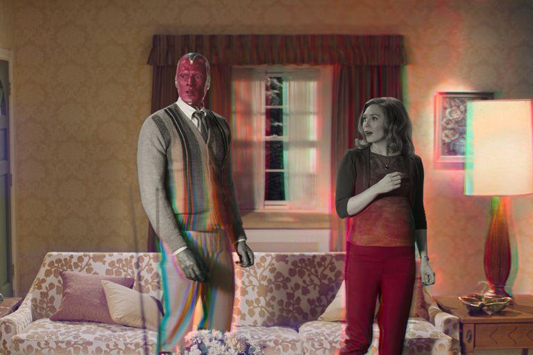 WandaVision explora la última frontera del universo Marvel: las sitcoms