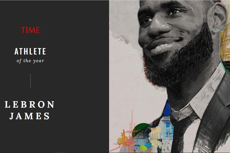 LeBron James, el atleta del año para la revista Time