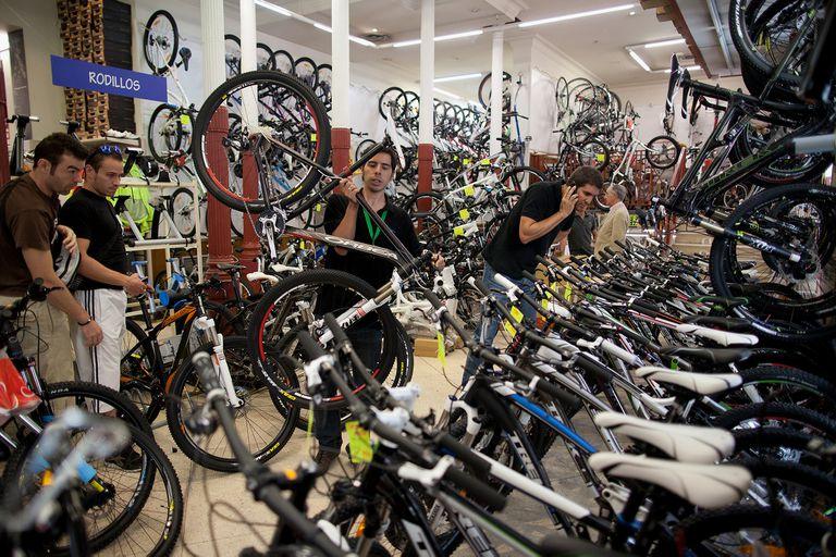 El negocio de las bicicletas usadas crece en Europa