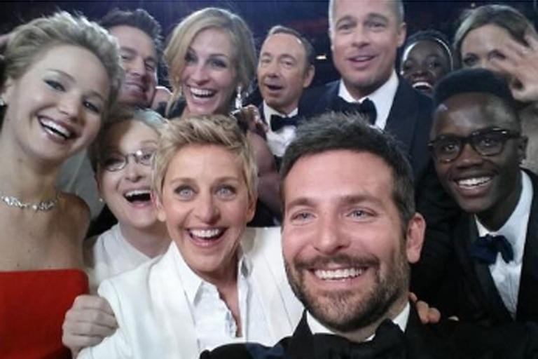 La selfie de Ellen DeGeneres fue la publicación más retuiteada de 2014, según el anuario de Twitter