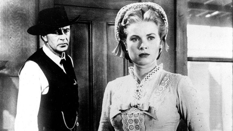 Kelly como Amy Fowler Kane, en la película A la hora señalada (1952)