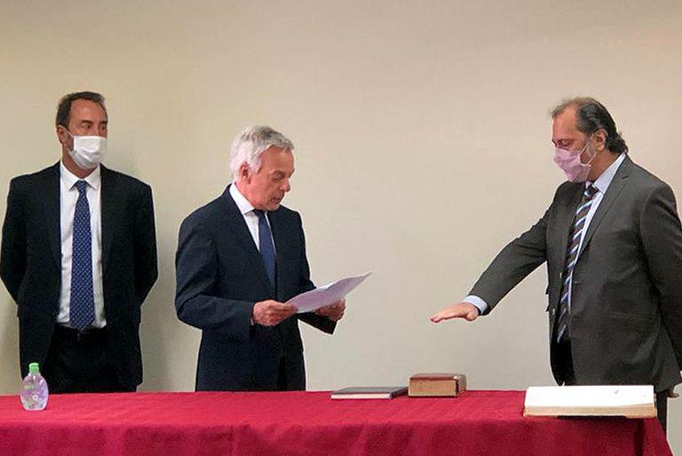 Roberto Boico, exabogado de Cristina Kirchner, jura en la Cámara Federal ante Martín Irurzun