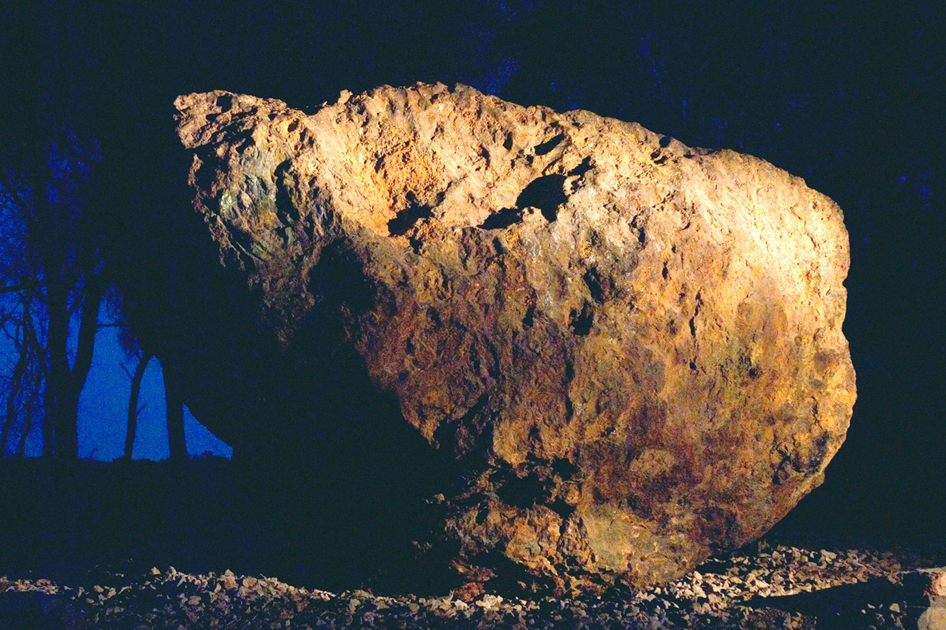 Los meteoritos son la obsesión del dúo que integran Guillermo Faivovich y Nicolás