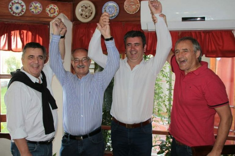 En La Falda la sorpresa no fue el resultado sino Mestre y Negri juntos