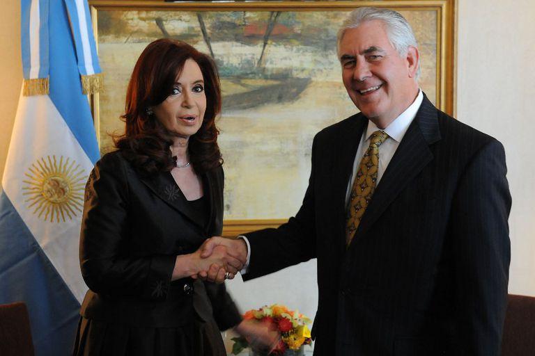 Cristina recibió al CEO de la petrolera Exxon en Nueva York