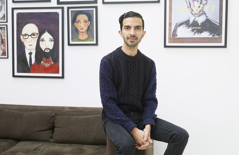 Imran Amed es el creador de la exitosa plataforma de noticias y análisis de la moda BoF