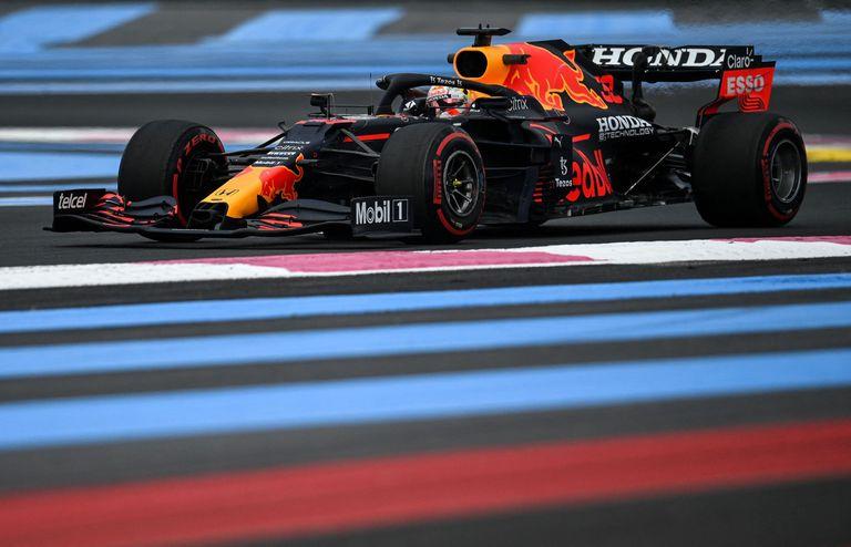 Max Verstappen (Red Bull) hizo el mejor tiempo en los ensayos