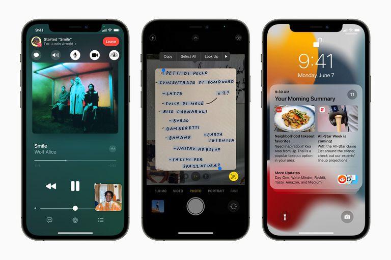iOS 15 llegará en la próxima primavera para múltiples dispositivos, aunque Apple seguirá publicando parches de seguridad para quienes prefieran seguir en iOS 14