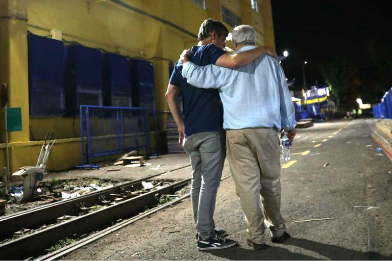 Elecciones en Boca: la intimidad del triunfo de Ameal, Pergolini y Riquelme