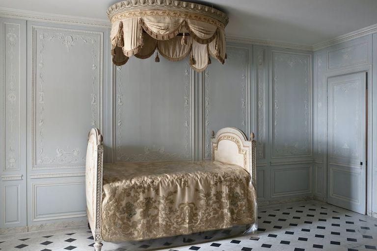 Sala de baño de los aposentos de María Antonieta en Versalles