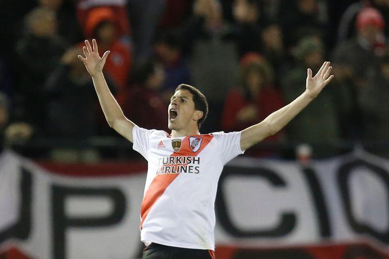 Figura: Nacho Fernández se va de River como uno de los mejores jugadores del ciclo Gallardo