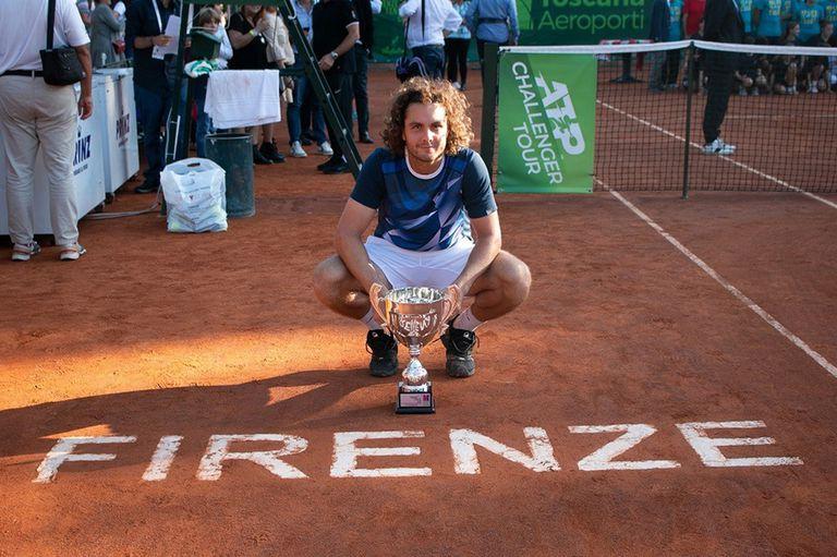 El argentino Marco Trungelliti conquistó el Challenger de Florencia, Italia.