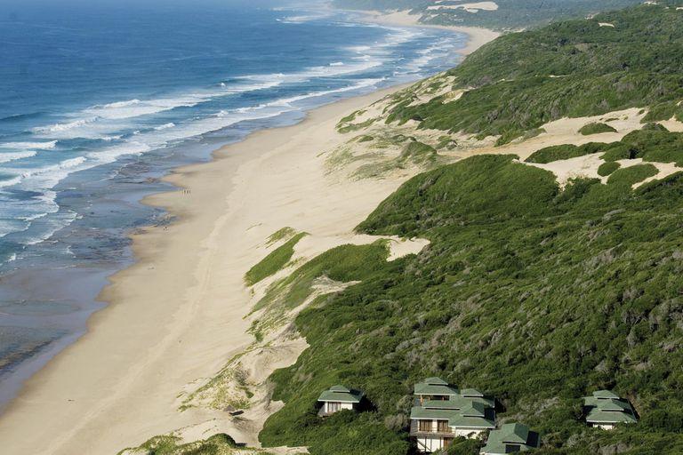 El lugar en donde los reyes quisieron construir una residencia de verano en Mozambique.