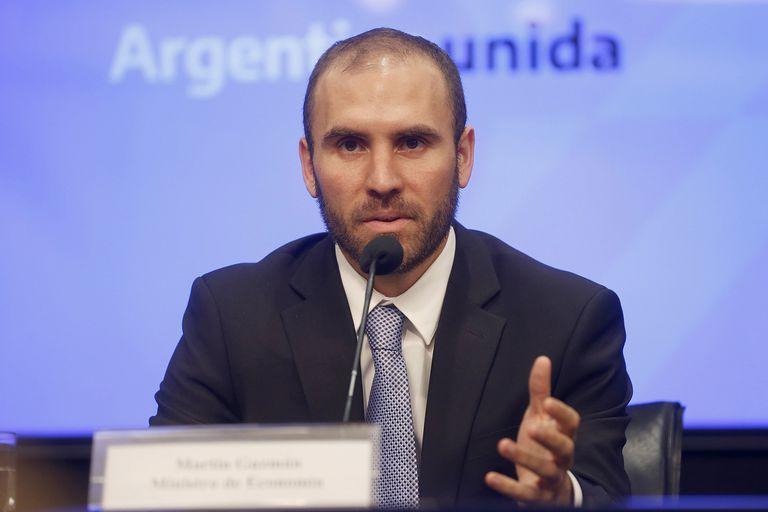 """Martín Guzmán, ministro de Economía de la Nación y encargado de la renegociación de la deuda, negó que el Tesoro tenga contemplado un """"salvataje financiero"""" para la provincia de Buenos Aires"""