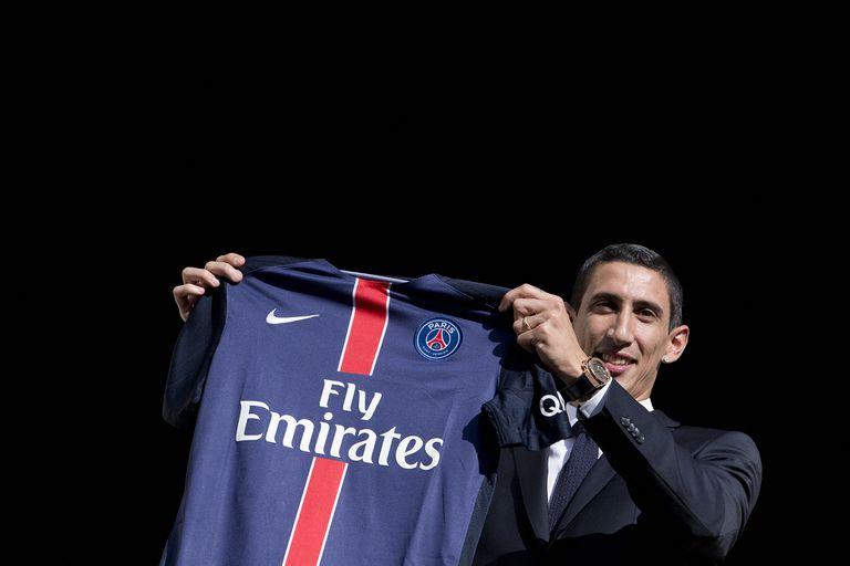 Ángel Di María llegó en agosto de 2015 a Paris Saint-Germain; hoy, a los 33 años y casi con la misma apariencia física, transita su sexta temporada, firmó por una séptima y tal vez se extienda a una octava.