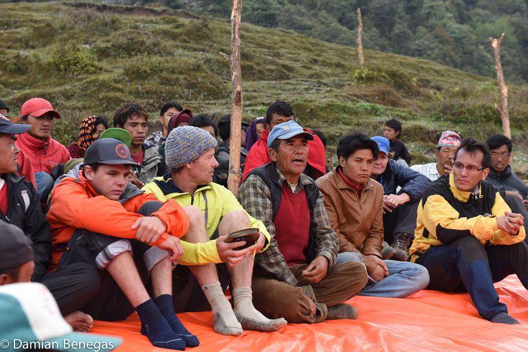Los montañistas argentinos que diseñaron un plan de ayuda con apoyo del PMA