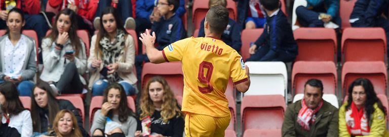 El festejo de Vietto