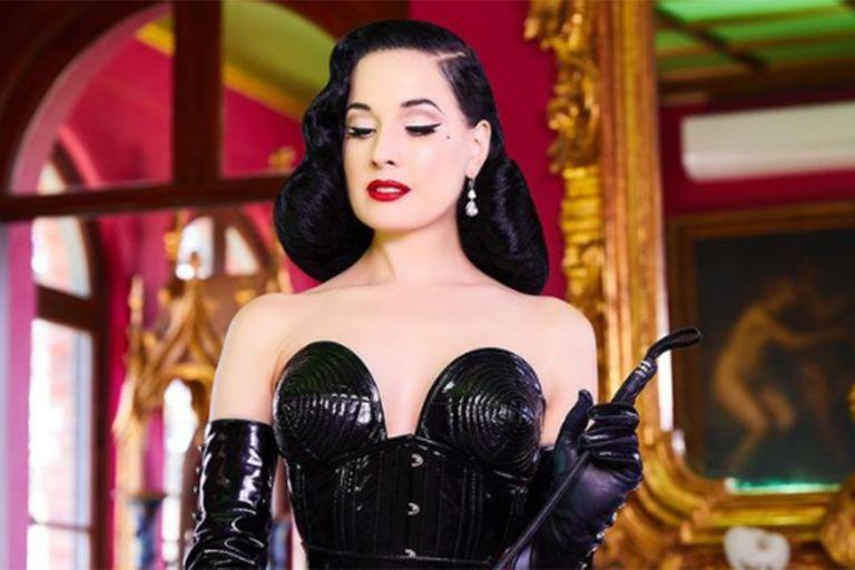 Dita Von Teese se refirió a las denuncias de abuso contra Marilyn Manson