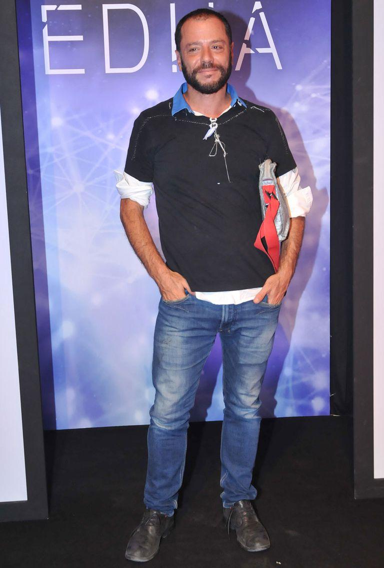 Martín Churba fue uno de los invitados a ver la serie que habla sobre el mundo de la moda