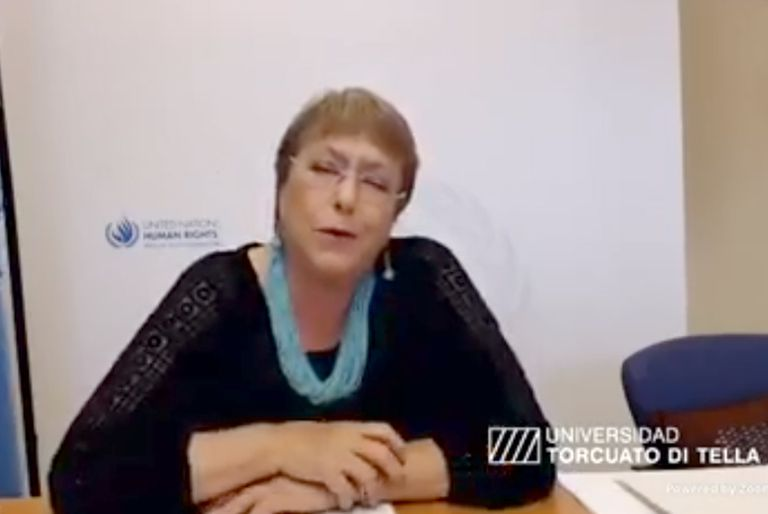 """Pandemia. Bachelet: """"Cuando haya una vacuna, es clave que sea un bien público"""""""