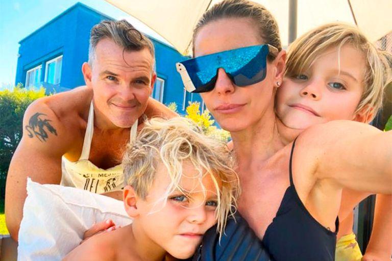 Coronavirus: Jimena Cyrulnik pasa la cuarentena con sus hijos y con su ex