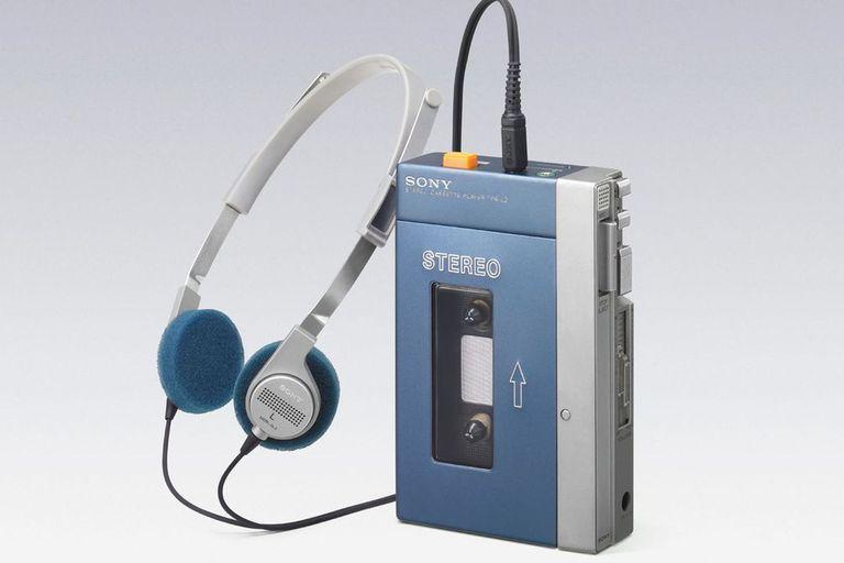 El primer Walkman, presentado en 1979