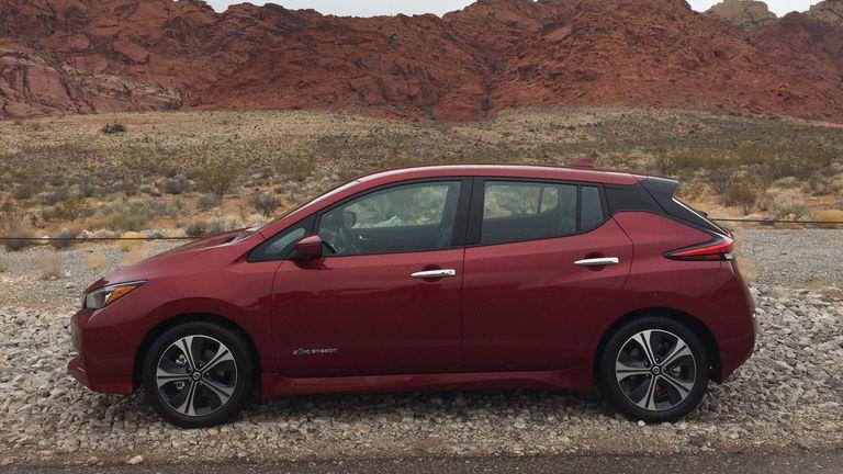 El Nissan Leaf, eléctrico y semiautónomo