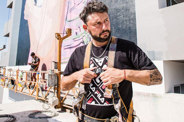 De pintar a Tevez en Fuerte Apache a muralista top en el mundo
