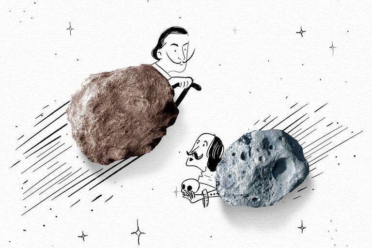 De Cervantes a Borges y de Dalí a Warhol: figuras célebres con asteroide propio